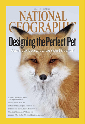 National Geographic Magazine cover, March 2011