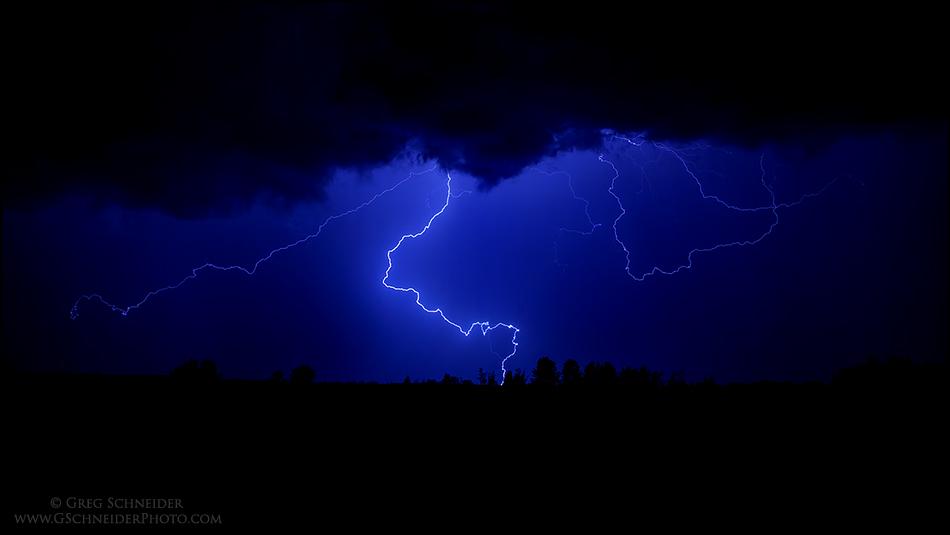 Prairie Lightning Storm