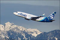 Alaska Airlines N611AS - North Shore Mountains