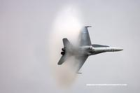 F-18 vapour cloud