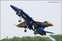 Blue Angels solo takeoff