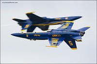 Blue angels pass